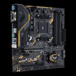 ASUS TUF B350M-PLUS GAMING AM4 B350 MATX GLN+U3.1+M2 SATA 6GB/S DDR4 IN (90MB0UU0-M0EAY0)