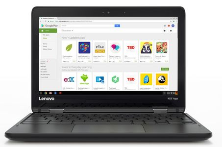 LENOVO N23 Chromebook Celeron N3060 11.6inch HD 4GB 32GB EMMC Intel GFX HDcam BT4.1 3cell Chrome OS (ND)(P) (80YS003HNC)
