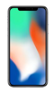 APPLE iPhone X 64 GB silver (MQAD2QN/A)