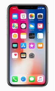 APPLE iPhone X - 256 GB - Grå (MQAF2QN/A)