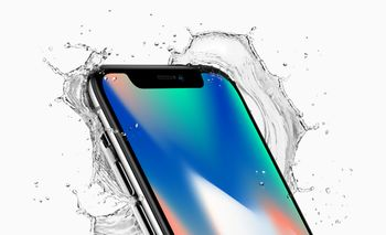 APPLE iPhone X 256 GB silver (MQAG2QN/A)