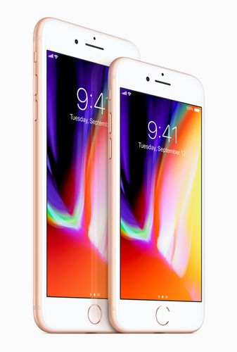 APPLE iPhone 8 Plus 256GB - Mobiltelefon - Sølv (MQ8Q2QN/A)