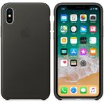 APPLE IPHONE X LEATHER CASE CHARCOAL GRAY (MQTF2ZM/A)