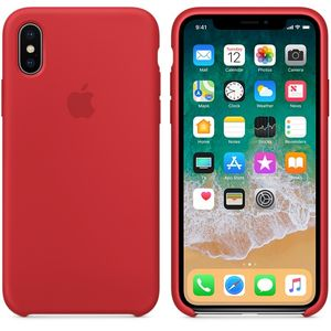 APPLE iPhone X Silicone Case - PRODUCT RED (MQT52ZM/A)