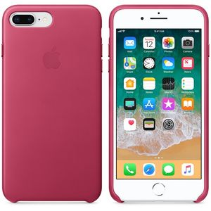 APPLE Iphone 7 Plus/8 Plus Leather Case - Pink Fuchsia (MQHT2ZM/A)