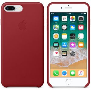 APPLE iPhone8 Plus/7 Plus Leder Case (rot) (MQHN2ZM/A)