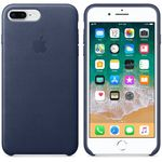 APPLE IP7/8 Plus Leather Case M.Blue (MQHL2ZM/A)