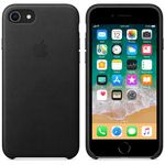 APPLE IP7/8 Leather Case Black (MQH92ZM/A)