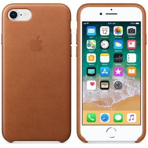 APPLE IP7/8 Leather Case Saddle Brown (MQH72ZM/A)
