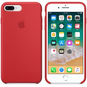 APPLE iPhone 8 Plus / 7 Plus Silicone Case - (PRODUCT)RED (MQH12ZM/A)