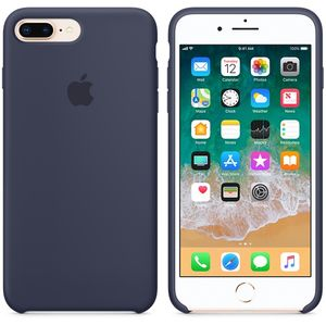 APPLE IP7/8 Plus Silicon Case M.Blue (MQGY2ZM/A)