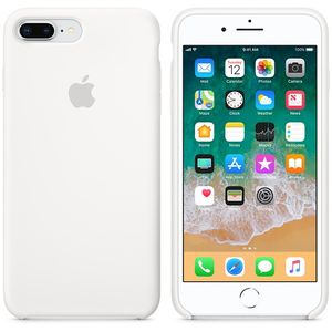 APPLE iPhone 8 Plus/7 Plus Silicone Case White (MQGX2ZM/A)