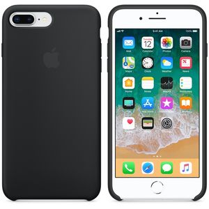 APPLE IP7/8 Plus Silicon Case Black (MQGW2ZM/A)