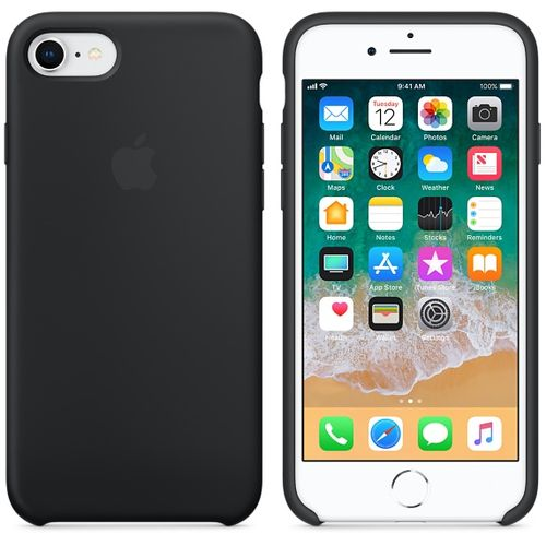 APPLE IP7/8  Silicone Case Black (MQGK2ZM/A)
