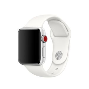 APPLE 38mm Soft White Spt Bnd S/M & M/L (MR262ZM/A)