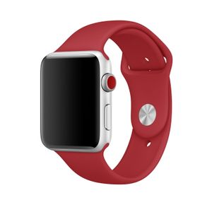 APPLE 42MM (PRODUCT)RED SPORT BAND - S/M & M/L ACCS (MQXE2ZM/A)