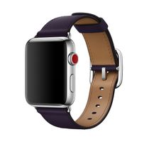 APPLE 42mm Dark Aubergine Classic Buckle (MQV42ZM/A)