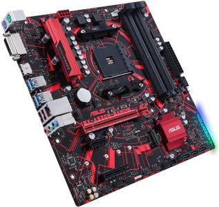 ASUS EX-A320M-GAMING,  Socket-AM4 Hovedkort,  Micro-ATX,  A320, DDR4, PCIe-x16, M.2 (EX-A320M-GAMING)