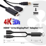 CLUB 3D Club3D Adapter HDMI > DP St/Bu 4K@30Hz bulk (CAC-2330)