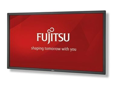 FUJITSU DISPLAY XL55-1 TOUCH EU XL Line 139cm 55inch wide Display IR-Touch w/o stand black DP 2xHDMI DVI-I (S26361-K1632-V160)