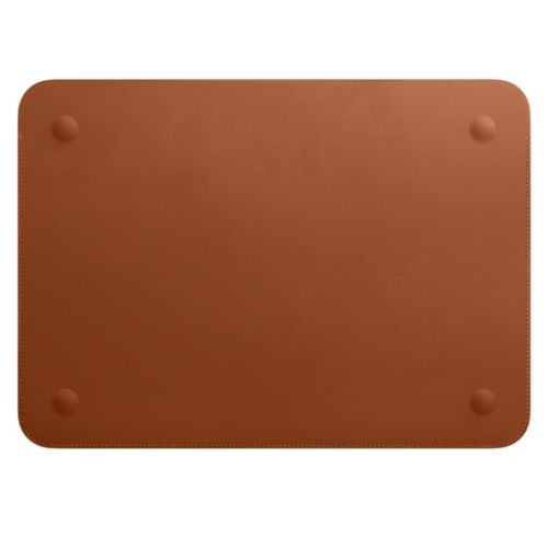 APPLE LEATHER SLEEVE FOR 12IN MACBOOK SADDLE BROWN ACCS (MQG12ZM/A)