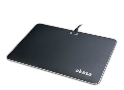 AKASA Vegas X9 RGB Mouse Pad, 9 modes of LED backlight illumination with lig (AK-MPD-04RB)