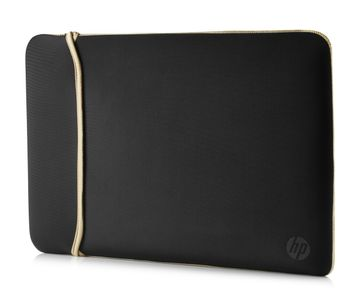 HP 14.0IN REVERSIBLE SLEEVE BLACK/ GOLD ACCS (2UF59AA#ABB)