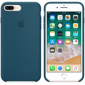 APPLE IPHONE 8+ / 7+ SILICONE CASE COSMOS BLUE (MR6D2ZM/A)