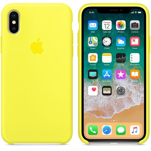 APPLE IPHONE X SILICONE CASE FLASH ACCS (MR6E2ZM/A)