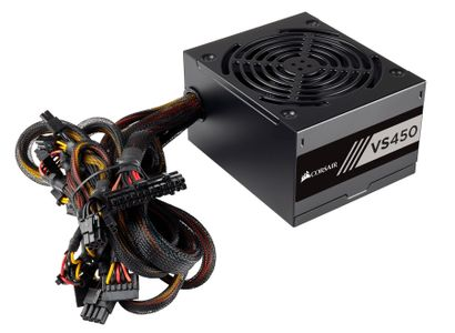 CORSAIR PSU  450W Corsair VS450 new 80+ (CP-9020170-EU)