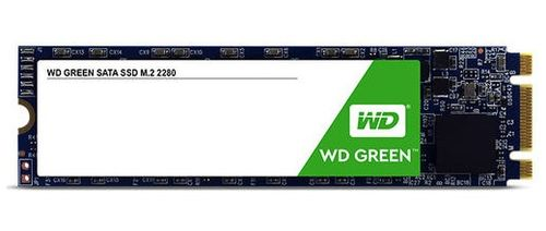 WESTERN DIGITAL SSD Green 120GB M.2 7mm SATA Gen 3 (WDS120G2G0B)