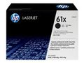 HP Original HP 61X LaserJet-tonerpatron med høj kapacitet,  sort