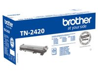 BROTHER Black Toner Cartridge   (TN2420)