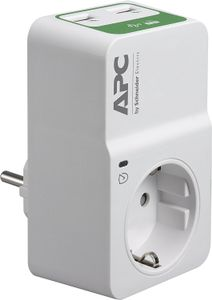 APC ESSENTIAL SURGEARREST OUTLET230V GERMANY 2 PORT USB CH ACCS (PM1WU2-GR)