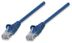 INTELLINET Patchkabel RJ45 U/UTP Cat5e 0.50m blau