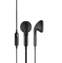 DEFUNC BASIC Talk, in-ear, 14mm, 1,2m kabel, svart