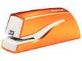 LEITZ WOW stapler battery-powered 10 sheets orange