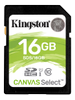 KINGSTON 16GB SDHC CANVAS SELECT 80R CL10 UHS-I EXT (SDS/16GB)