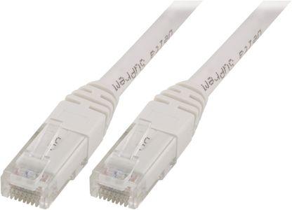 DELTACO Hvit Nettverkskabel 3M Cat5E (V3-TP)