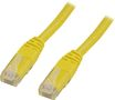 DELTACO UTP Cat.5e patchkabel 10m, gul