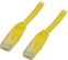 DELTACO UTP Cat.5e patchkabel 3m, gul