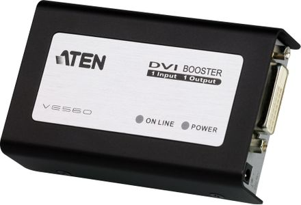 ATEN CAT5 DVI Booster up to 50m, (VE560-AT-G)