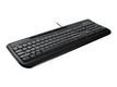 MICROSOFT MS Wired Keyboard 600 digital media controls and Xbox 360 compatible