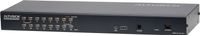 "ATEN KVM-switch,  1-16, 19"" 1U, Ethernetkabel,  KVM Over the NET (KH1516AI-AX-G)"
