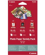 CANON Photo Paper Variety Pack 4x6 VP-10