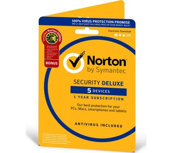 SYMANTEC Norton Security 3.0 ND 1 User 5 Devices (21357642)