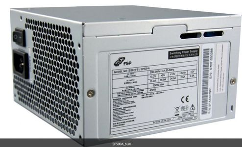 FSP/Fortron Power Supply 450W FSP 85+ Super Silent (sp500-a)
