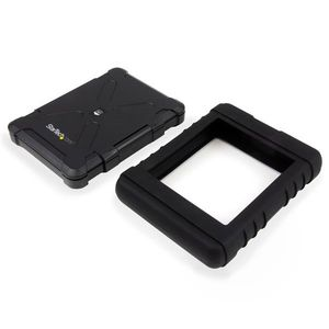 STARTECH Rugged Hard Drive Enclosure - USB 3.0 to 2.5in SATA 6Gbps HDD or SSD - UASP	 (S251BRU33)