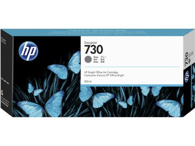 HP 730 300-ML GRAY INK CARTRIDGE SUPL (P2V72A)