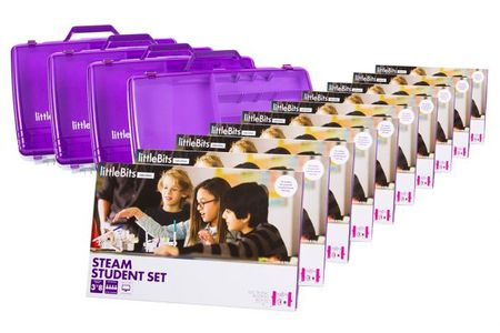 LittleBits Steam Education 18 student Class Pack  EU/UK (670-0056-011A3)